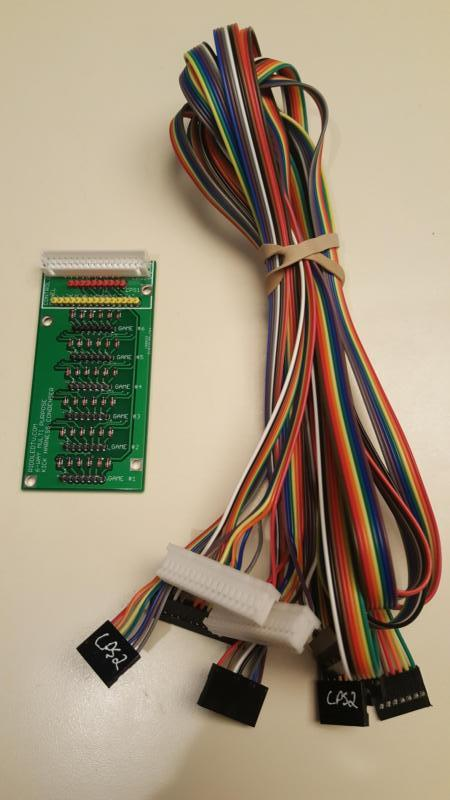 MultiFighter_800 arcade condenser boards for sale